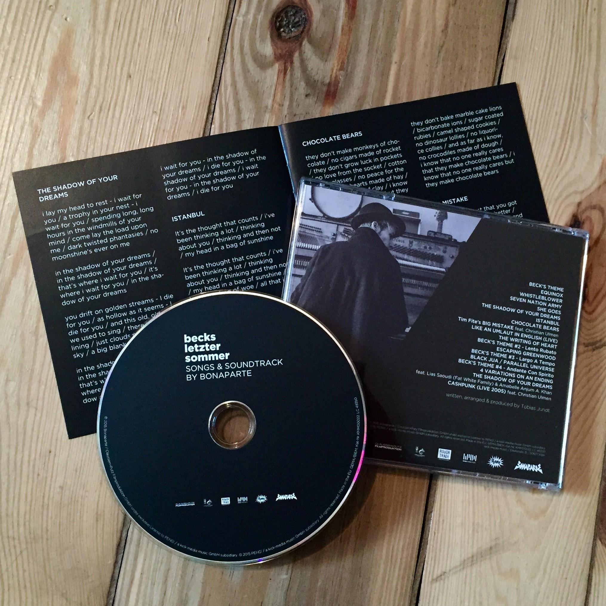 Bonaparte Becks letzter Sommer CD