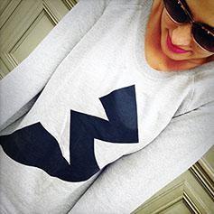 Bonaparte Blitz Girls Sweater, grau