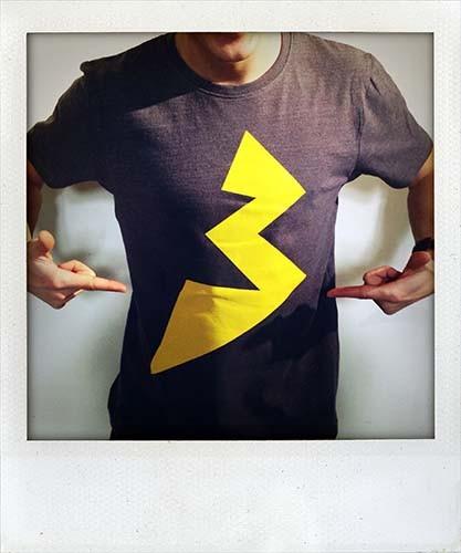 Bonaparte Blitz T-Shirt, dunkelgrau