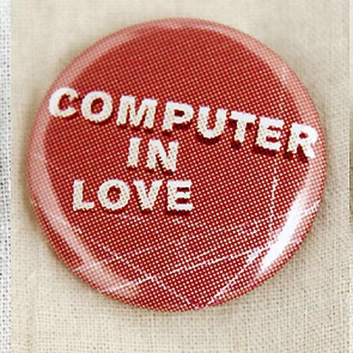 Bonaparte Computer in Love Button