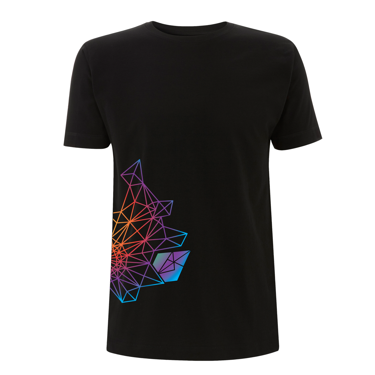 Andreas Bourani Diamant Regenbogen Shirt Herren T-Shirt, schwarz