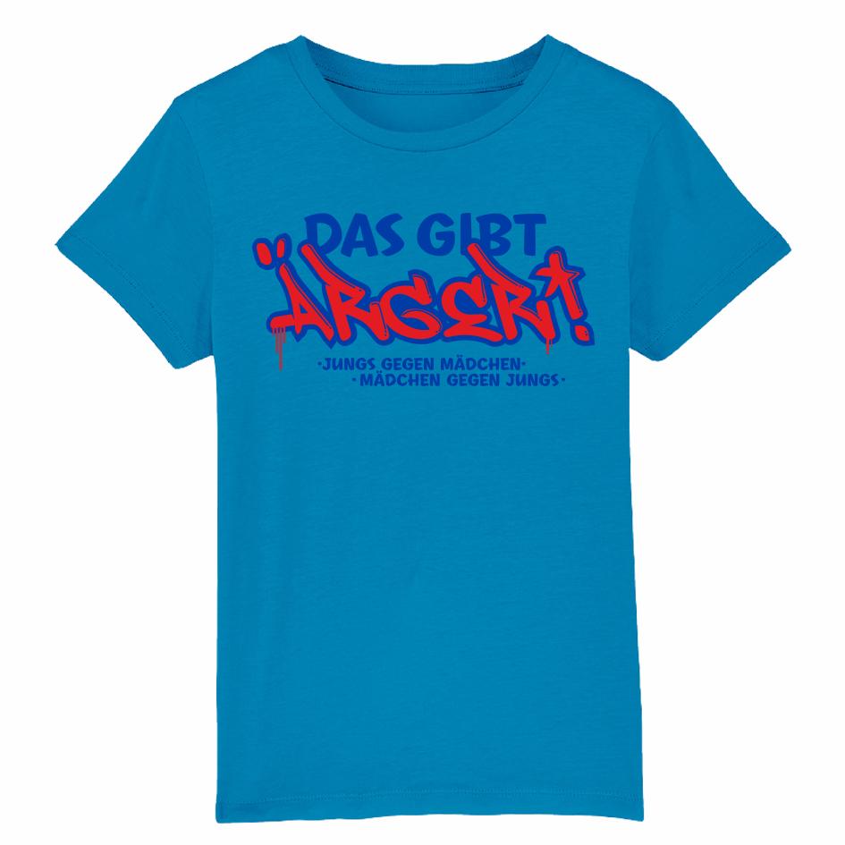 Bibi&Tina Das gibt Ärger Shirt azur T-Shirt, azur