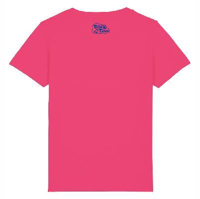 Bibi&Tina Das gibt Ärger Shirt himbeer T-Shirt Himbeere