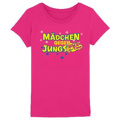 Bibi&Tina Mädchen gegen Jungs Kids T-Shirt rosa