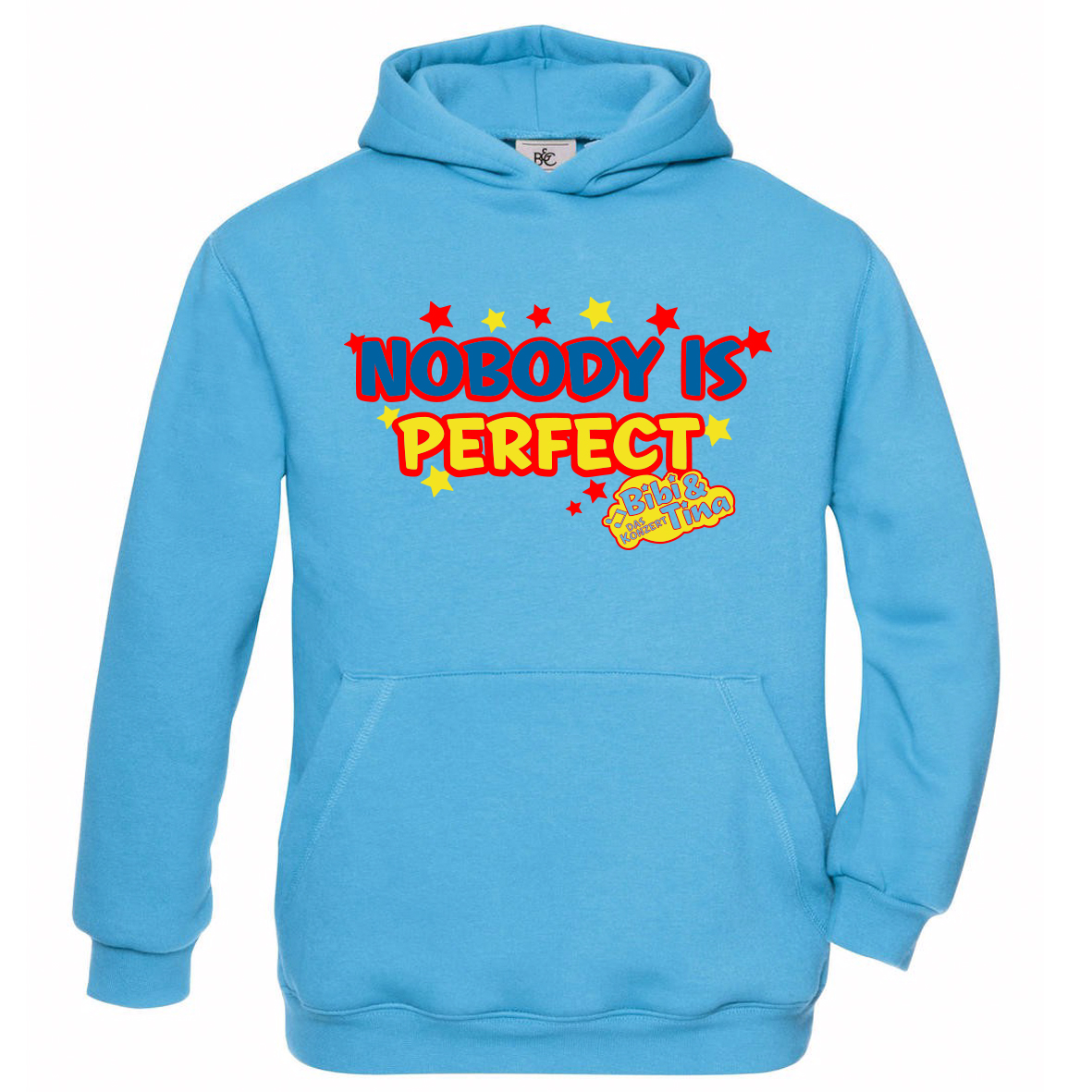 Bibi&Tina Nobody is Perfect! Hoodie, azur