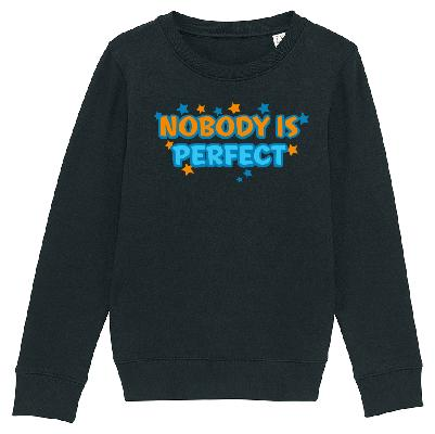 Bibi&Tina Nobody is Perfect Sweater 2020 Pullover schwarz