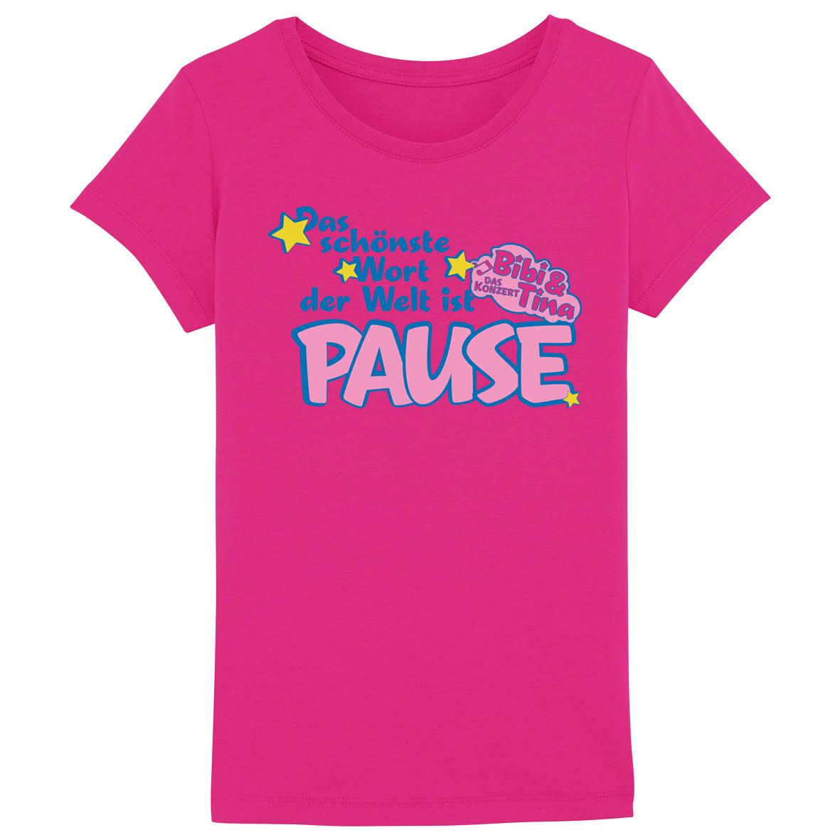 Bibi&Tina Pause Kids T-Shirt rosa
