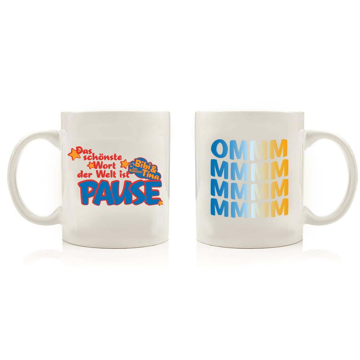 Bibi&Tina OMMMMM Cup, weiß