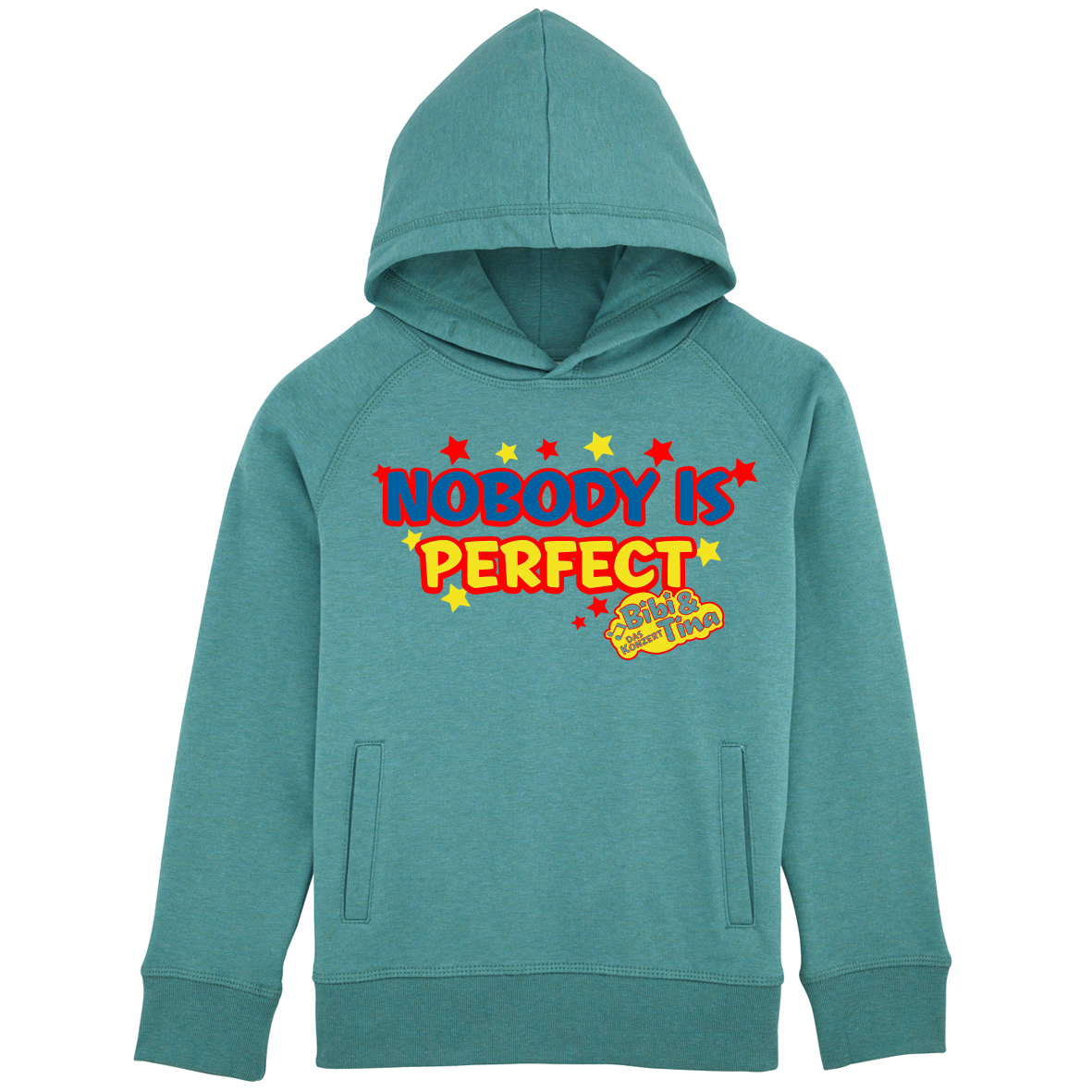 Bibi&Tina Nobody is perfect! Hoodie Hoodie, eucalyptus