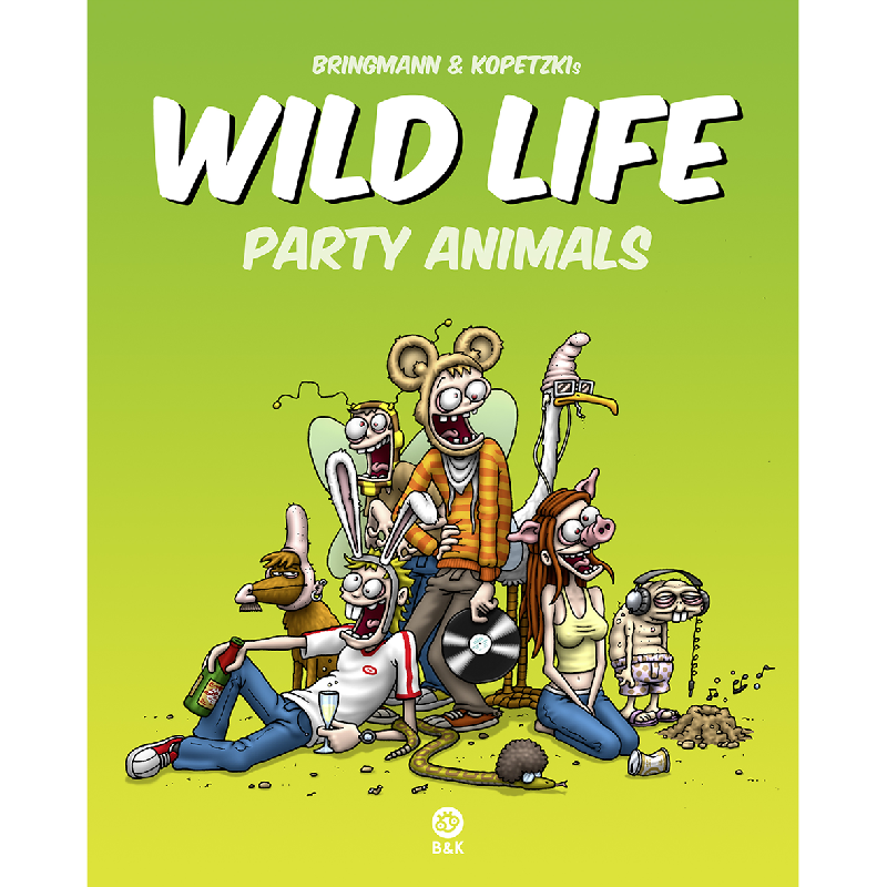 Bringmann&Kopetzki Wild Life - Party Animals Book
