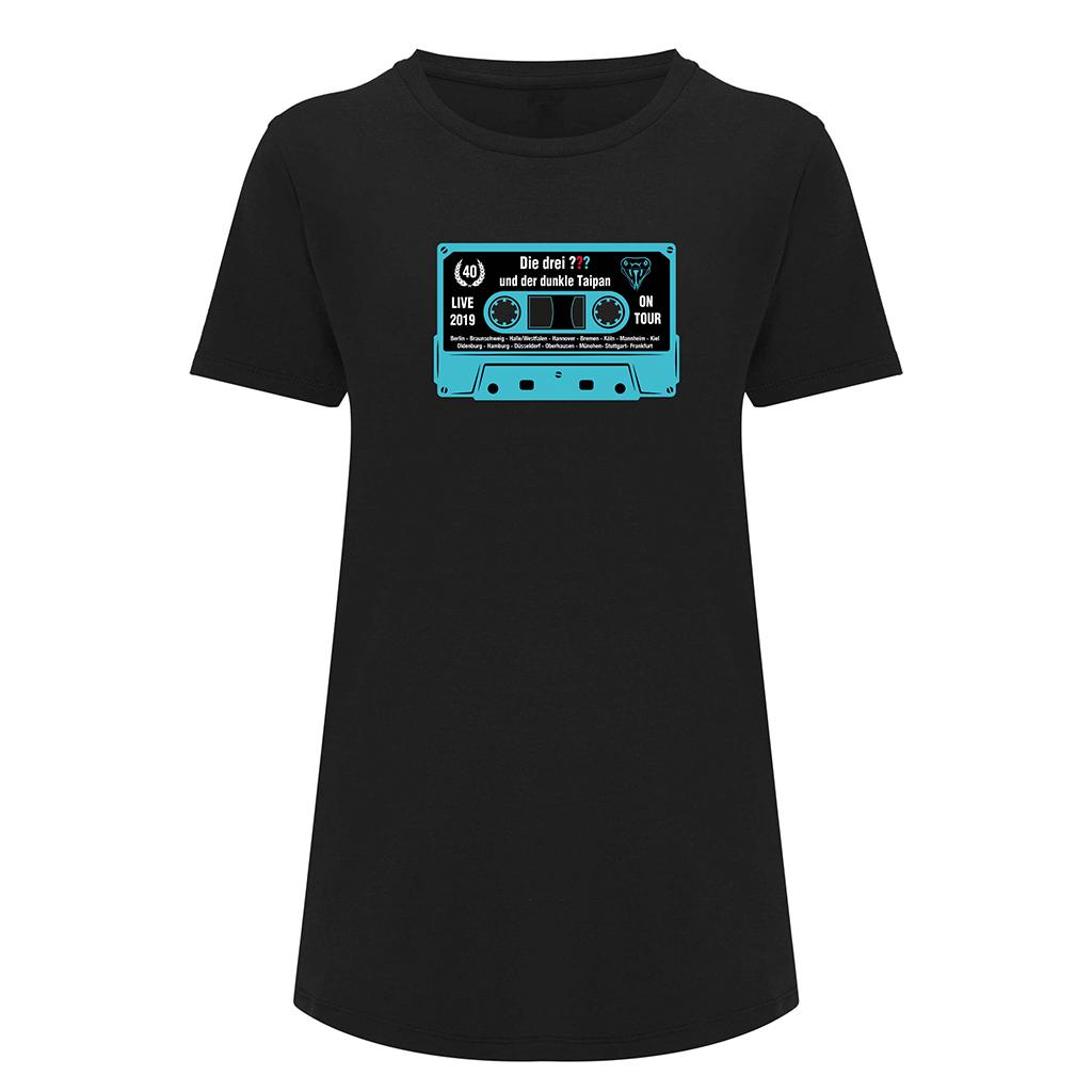 DDF Die drei ??? Kassette Shirt 2019 Damen Girlie