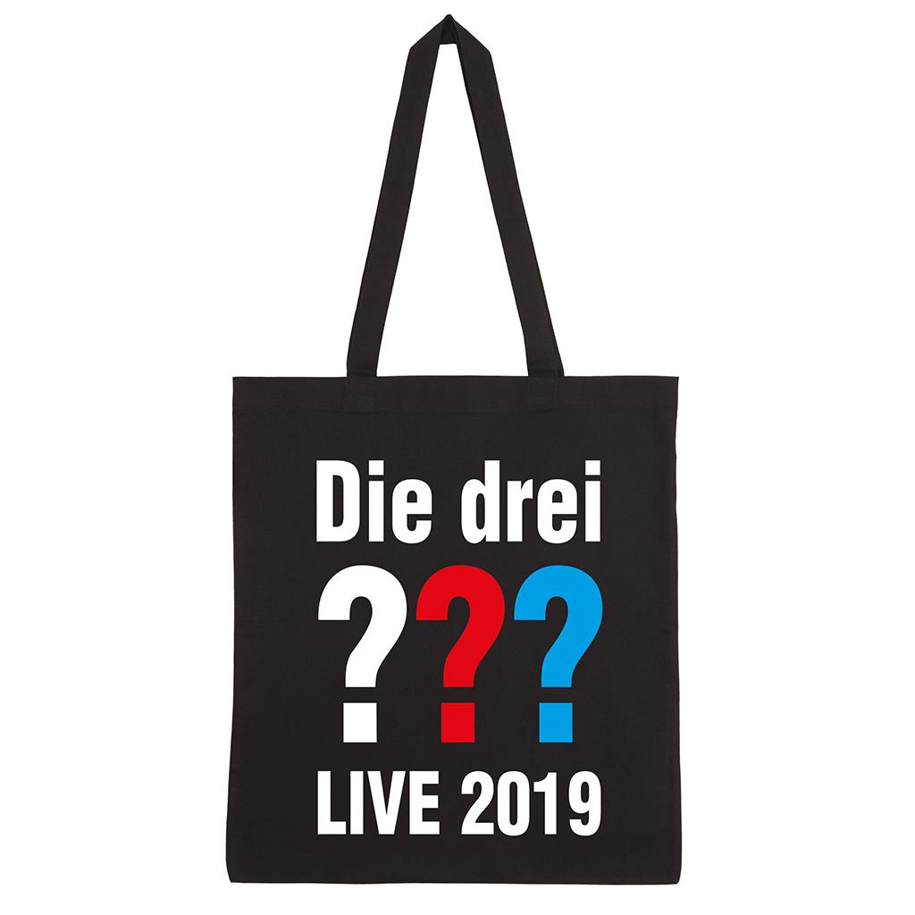 DDF Die drei ??? Tour Beutel 2019 Tasche, schwarz