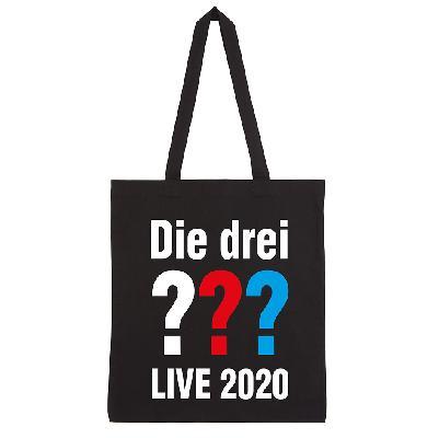 DDF Die drei ??? Live 2020 Tasche Tasche schwarz