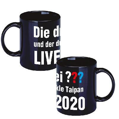 DDF Die drei ??? LIVE 2020 Tasse Cup schwarz