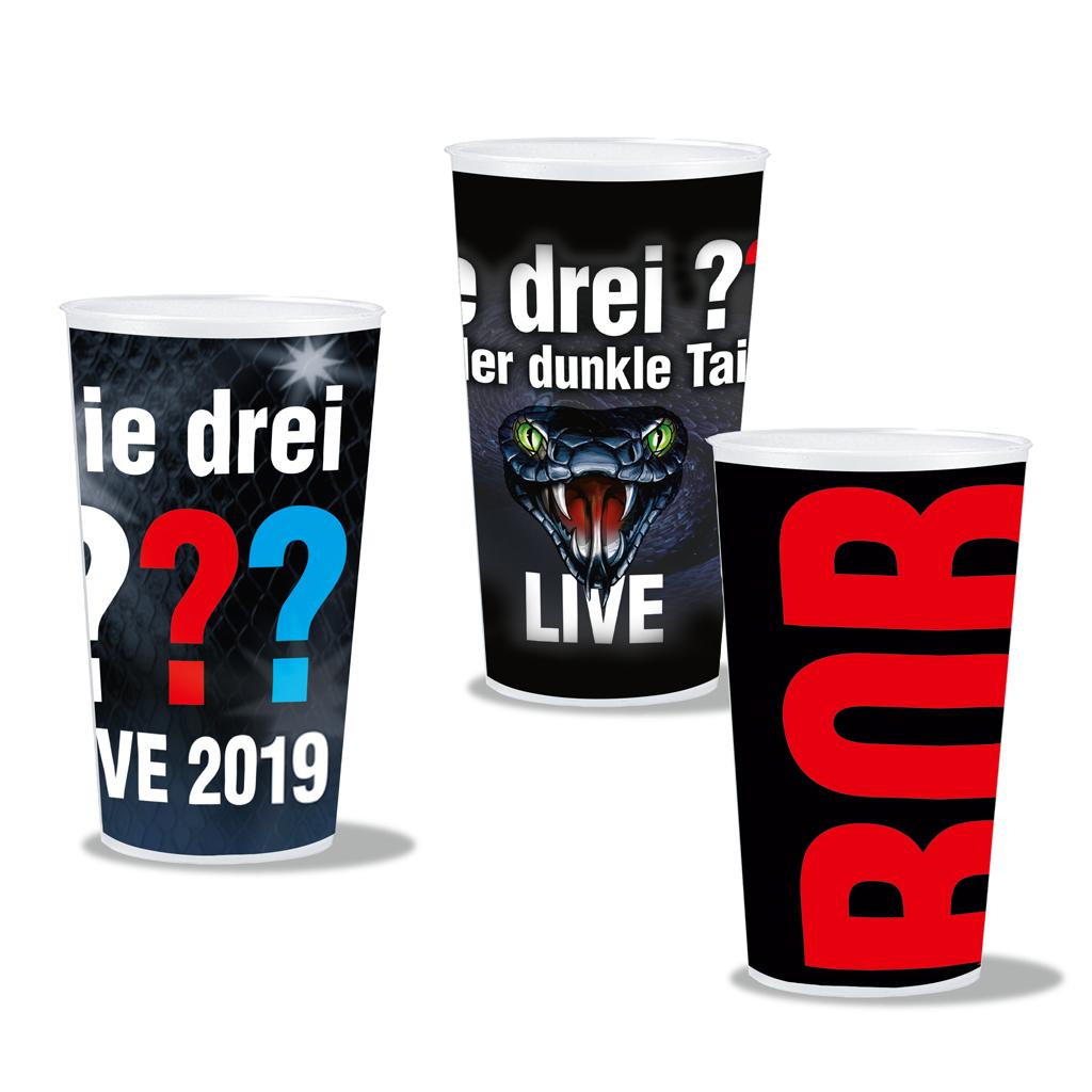DDF Die Drei ??? Pfandbecherset 2019 Becher