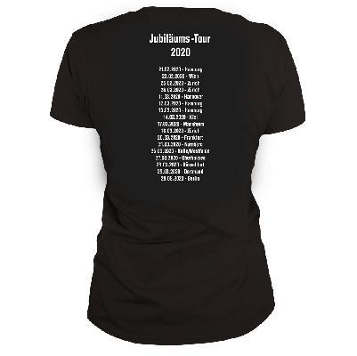 DDF Die drei ??? Tour Shirt 2020 Damen T-Shirt schwarz