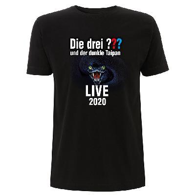 DDF Die drei ??? Tour Shirt 2020 Herren T-Shirt schwarz