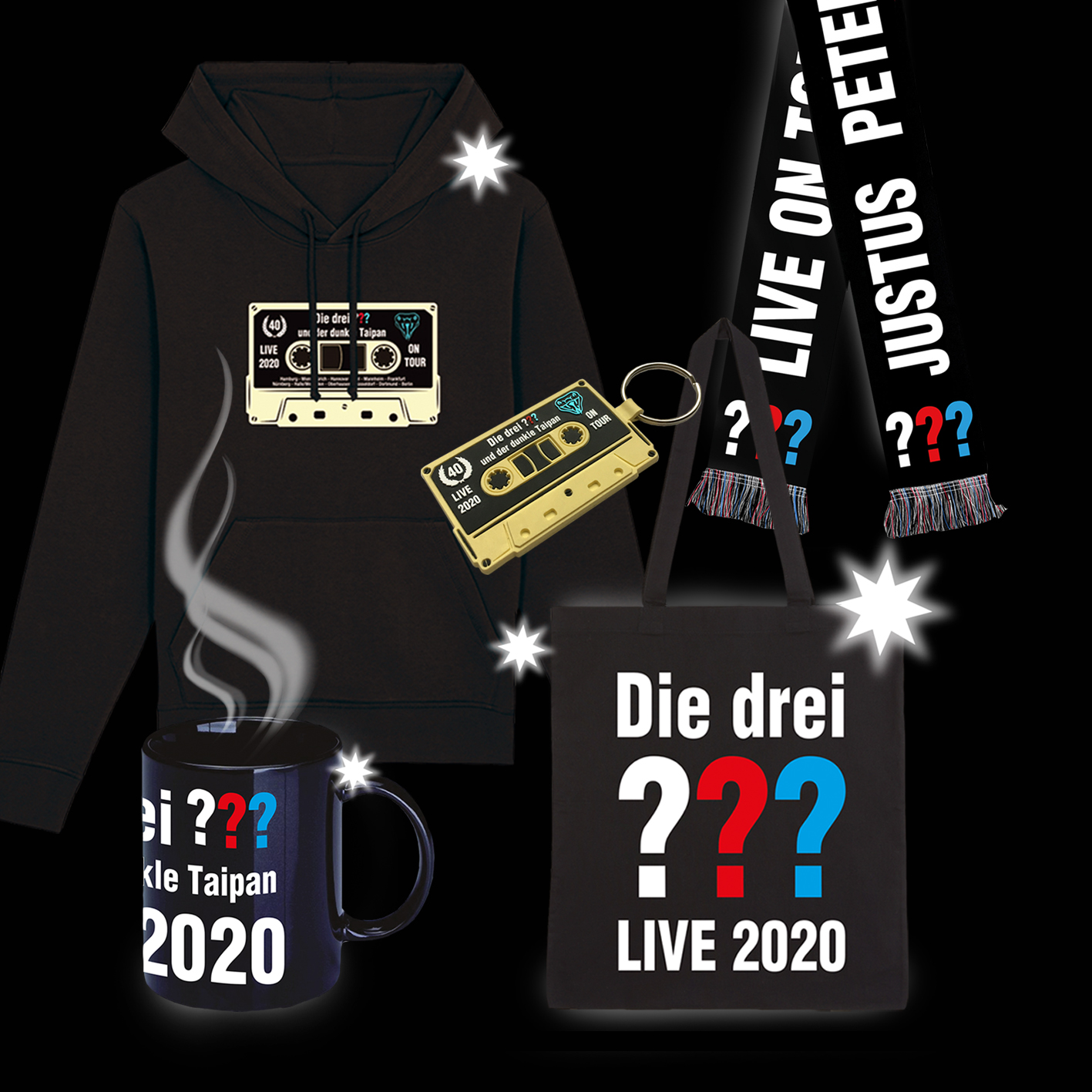 DDF Die drei ??? Winterpaket Others