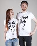 De fofftig Penns Denn Man To T-Shirt white