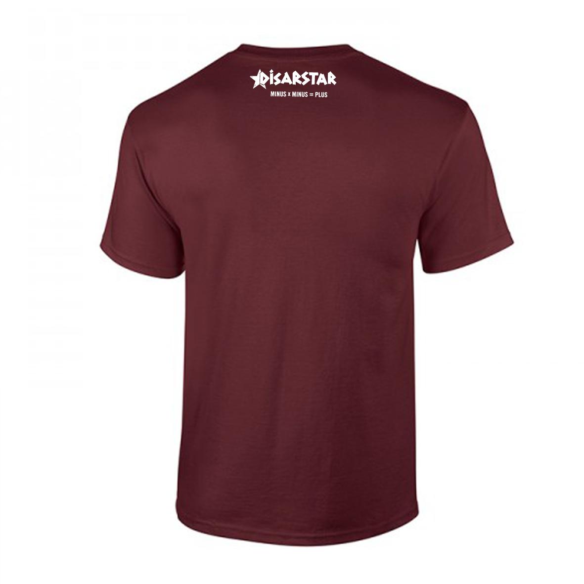 Disarstar Halb so wild T-Shirt bordeaux