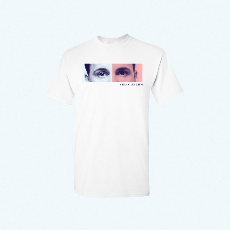 Felix Jaehn EYES TEE T-Shirt, white