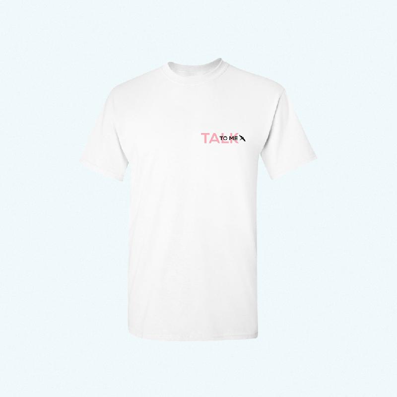 Felix Jaehn TALK TO ME TEE T-Shirt, White