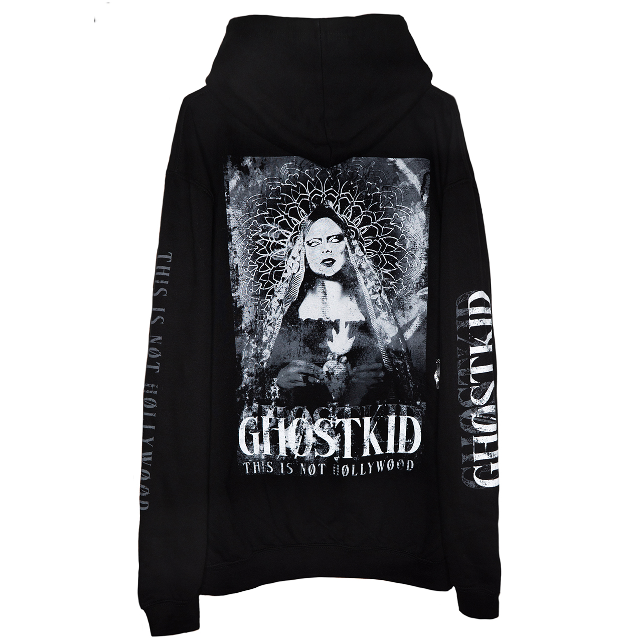 GHOSTKID Ghøstkid - This is not Hollywood Hoodie Hoodie
