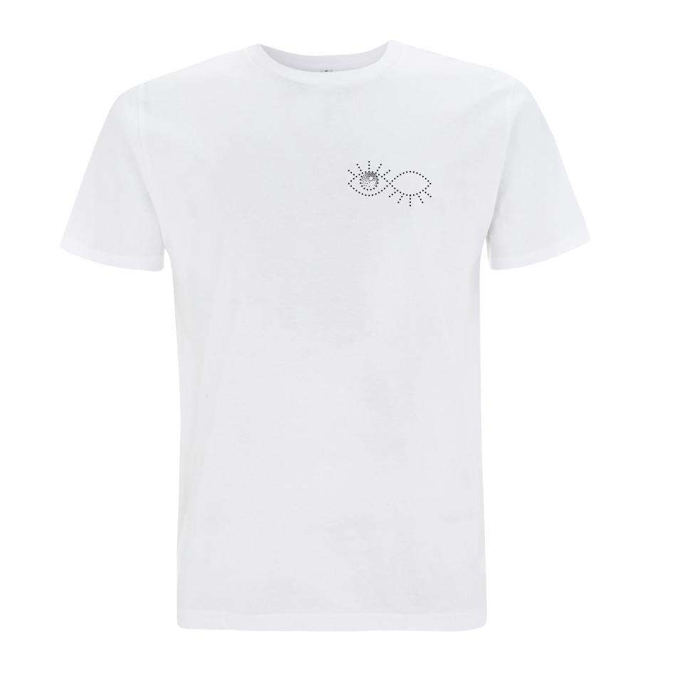 Grönemeyer Shirt Augenzwinkern T-Shirt, weiß