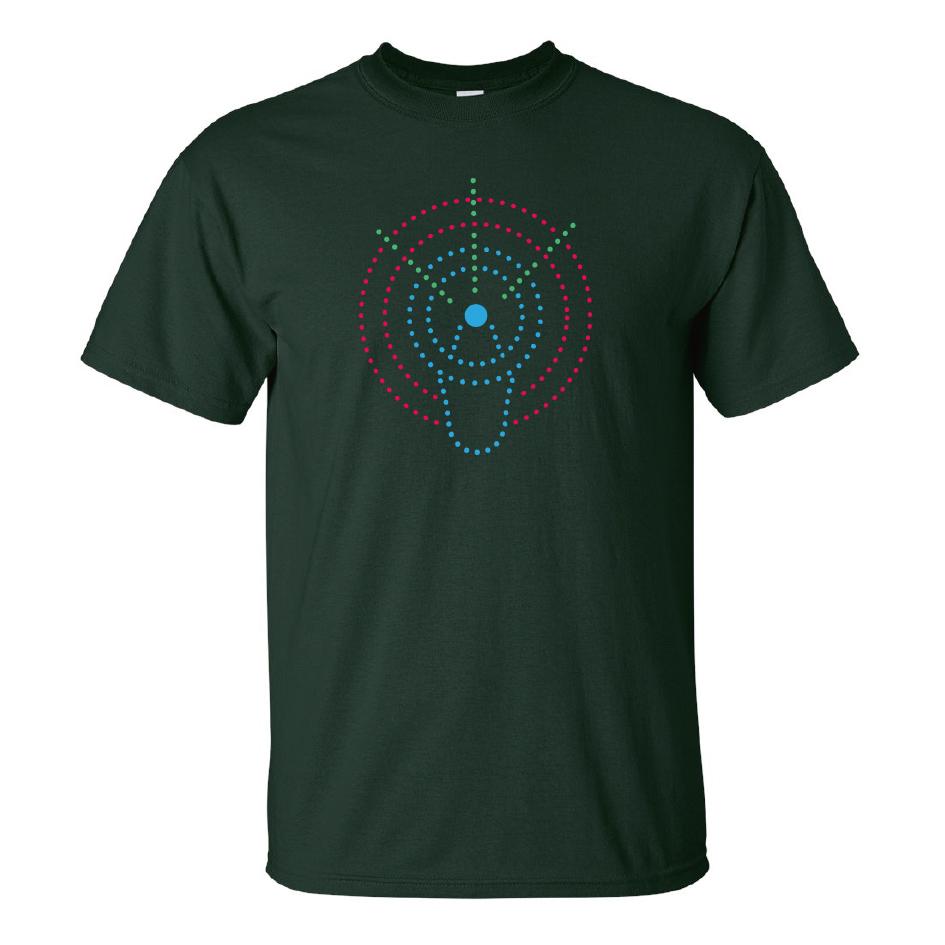 Grönemeyer Shirt Lautsprecher T-Shirt, grün