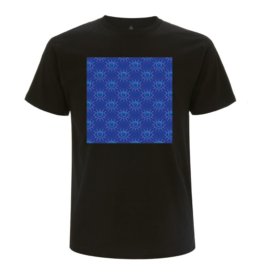 Grönemeyer Shirt Pattern T-Shirt, schwarz