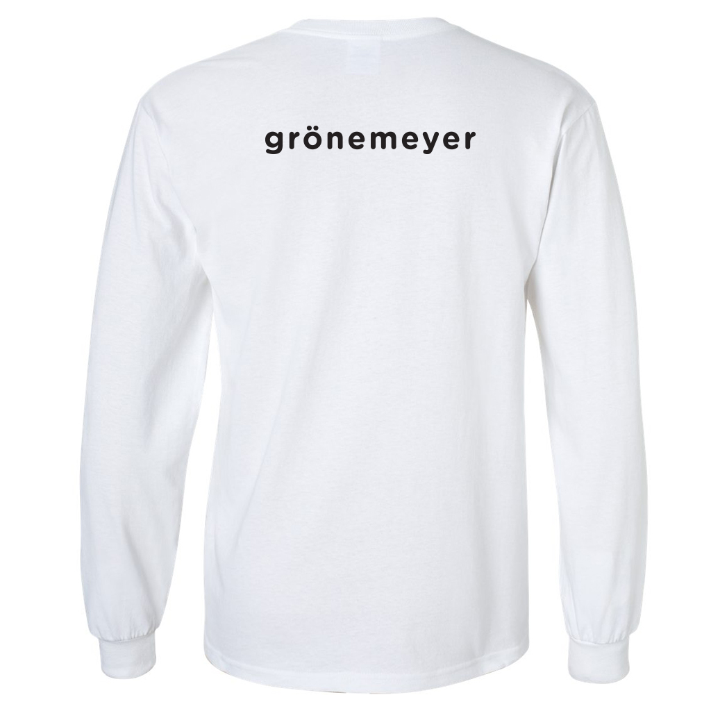 Grönemeyer Signature Longsleeve Foto Longsleeve white