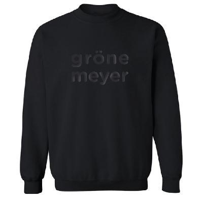 Grönemeyer Signature Pullover unisex Pullover schwarz