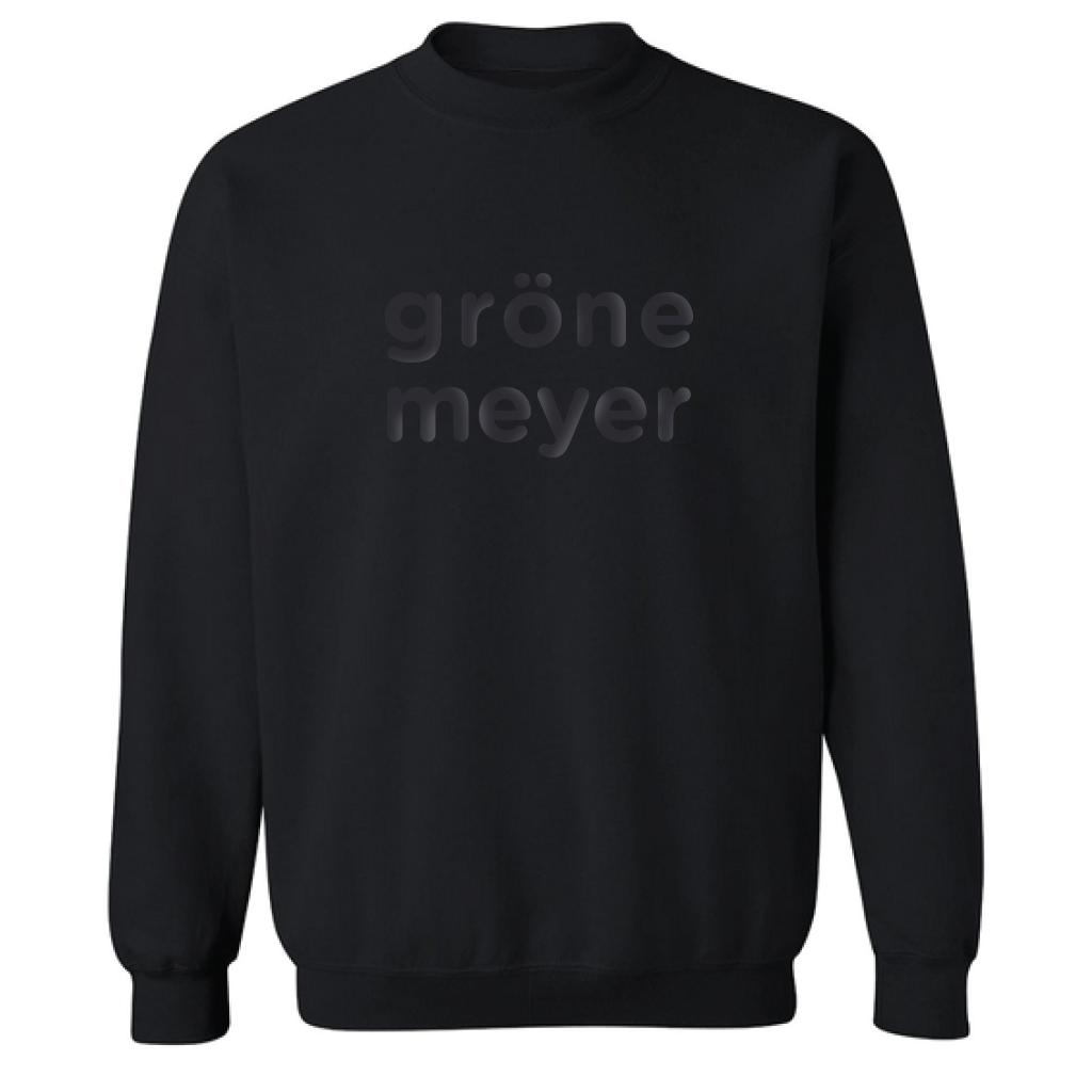 Grönemeyer Signature Pullover Pullover, black
