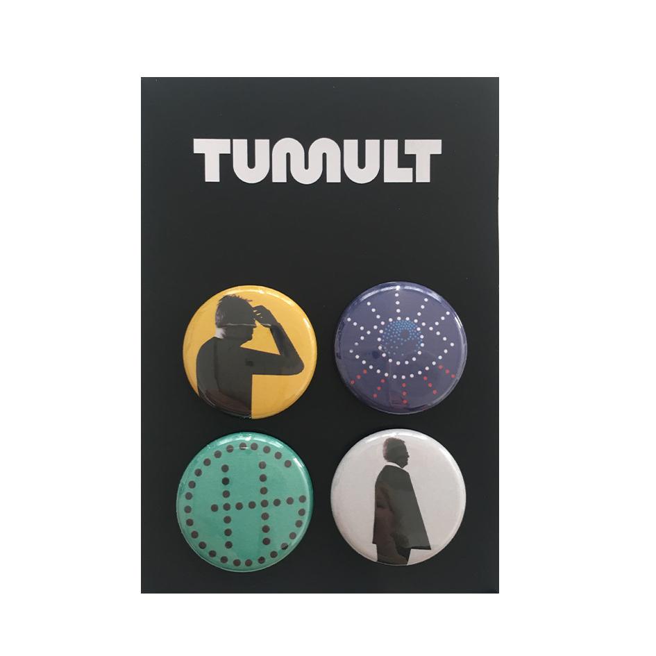 Grönemeyer Tumult Button-Set Buttons