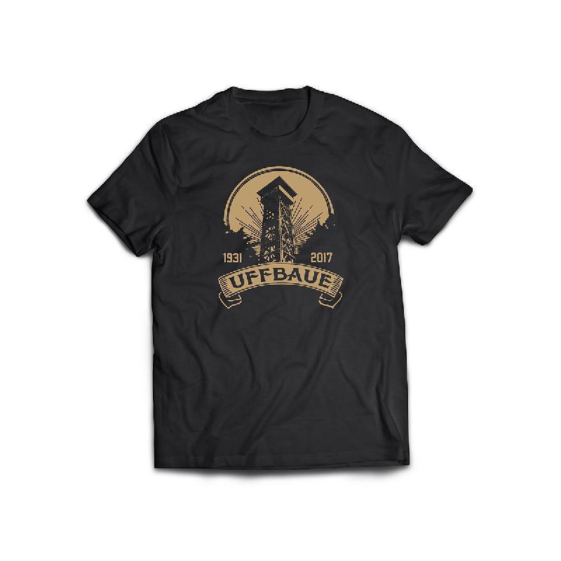 Journal Frankfurt Goetheturm Charity T-Shirt T-Shirt, Schwarz