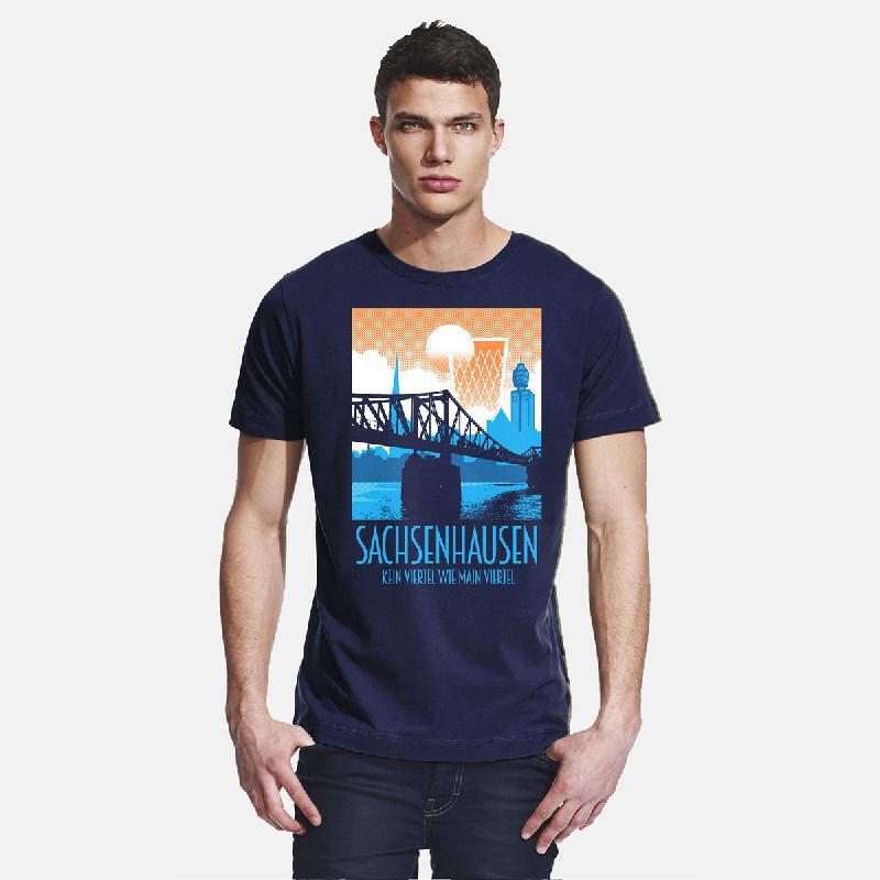 Journal Frankfurt Sachsenhausen T-Shirt, navy
