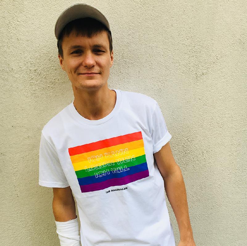 Killerpilze Lieben Wen Ich Will T-Shirt, Weiss