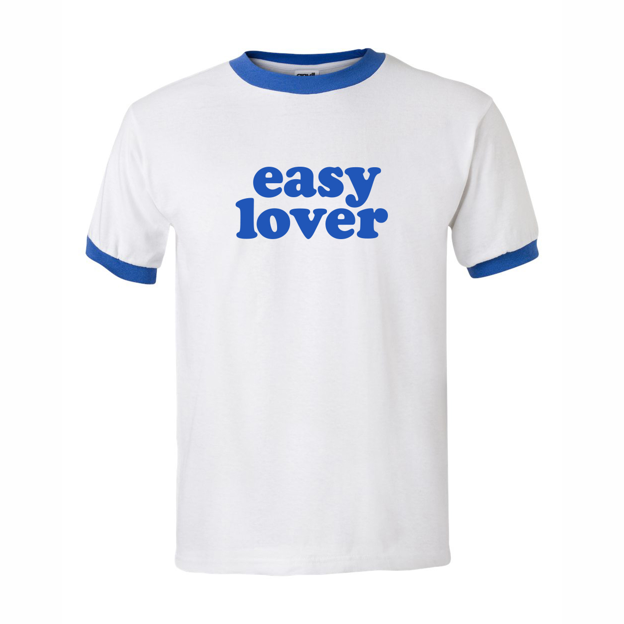 Kommerz mit Herz Easy Lover Blau Shirt, White