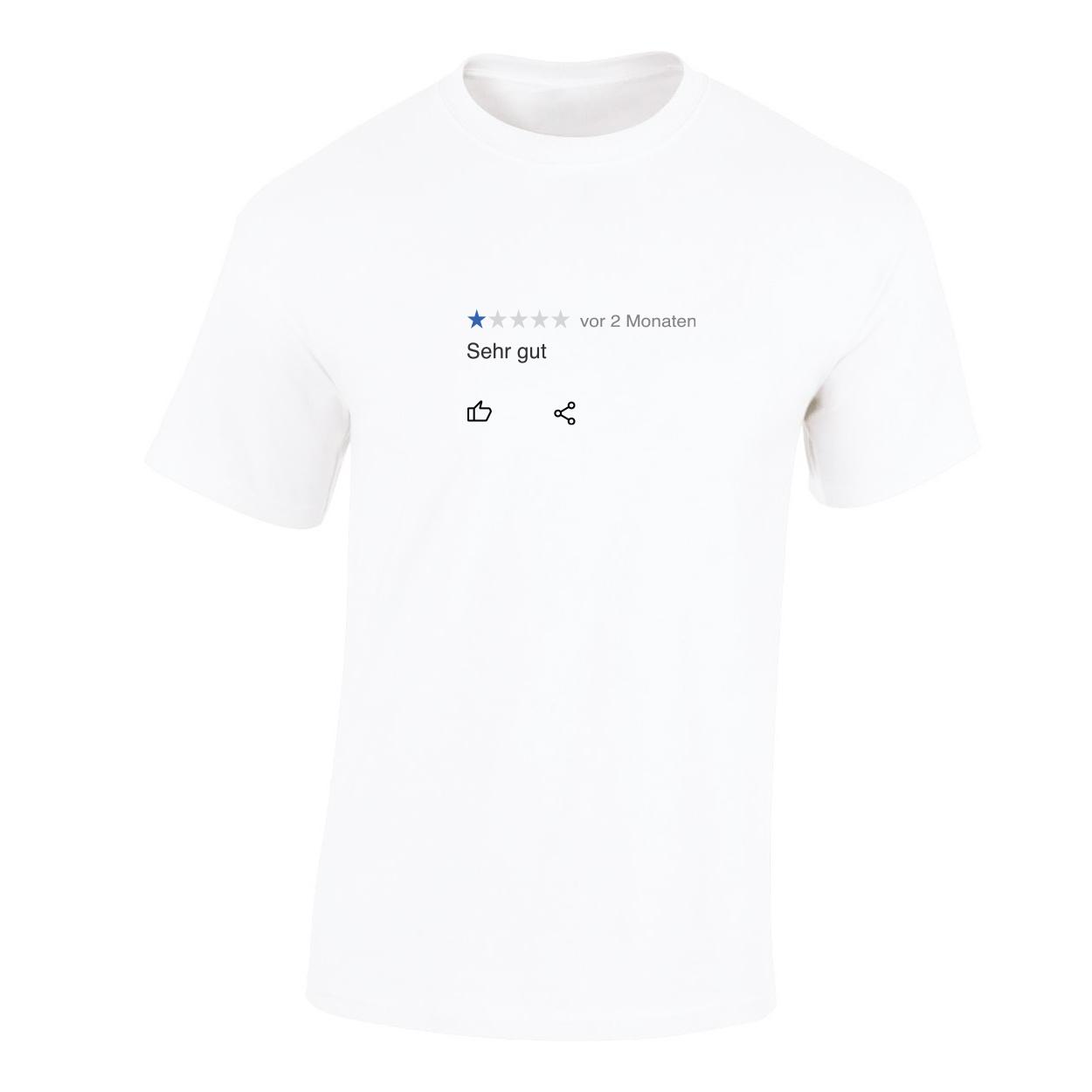 Kommerz mit Herz German Dankbarkeit Shirt White