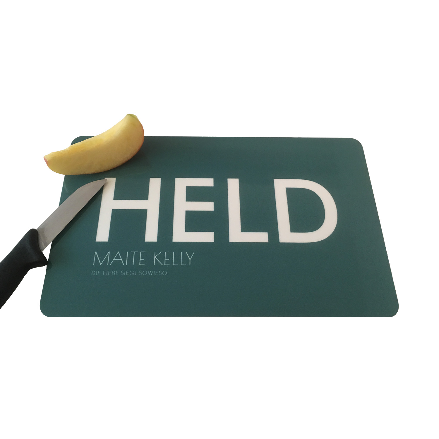 Maite Kelly Held Breakfast board, petrolgrün
