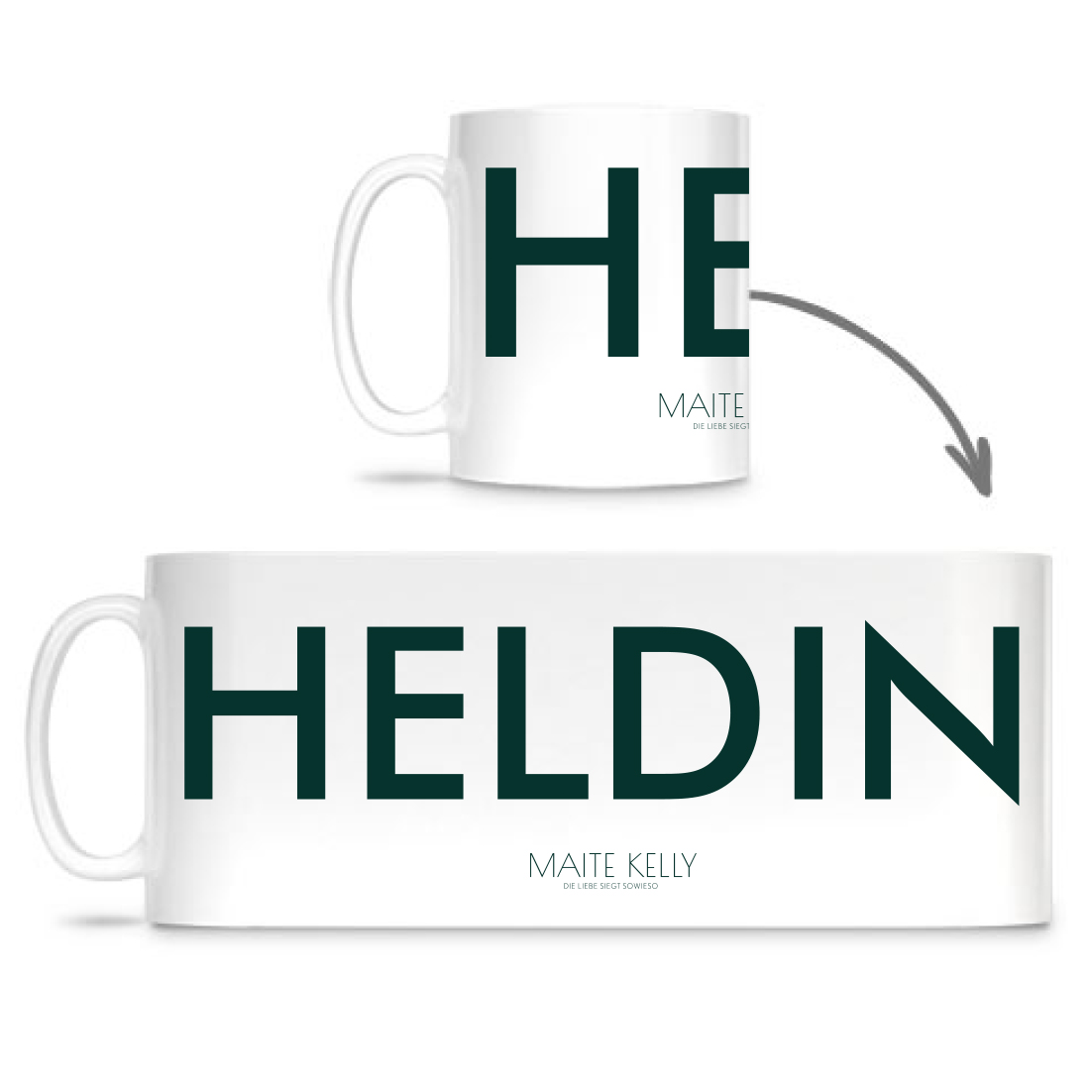 Maite Kelly Heldin Cup, weiß