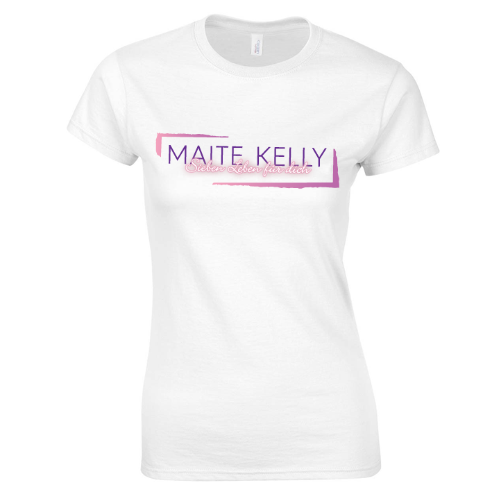 Maite Kelly Maite Kelly Tourshirt März 2017 Girlie, weiß