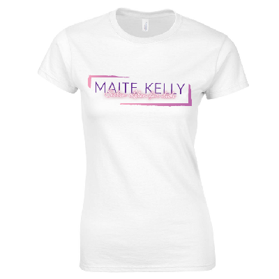 Maite Kelly Maite Kelly Tourshirt März 2017 Girlie weiß