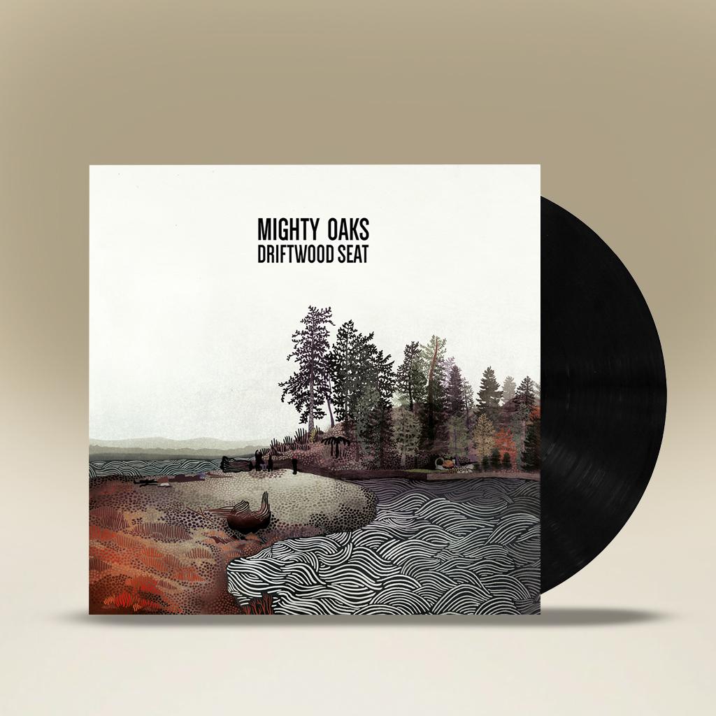 Mighty Oaks Driftwood Seat 10inch, Vinyl EP