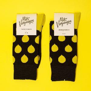 Mit Vergnügen Allover Socks Schwarz
