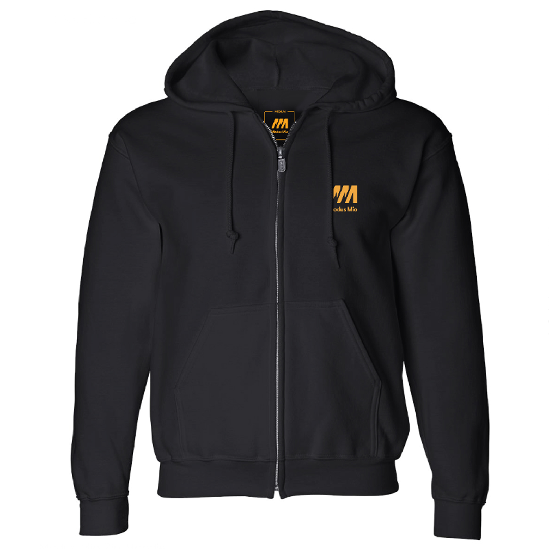 Modus Mio Modus Mio Zip Hoodie Zipper Black