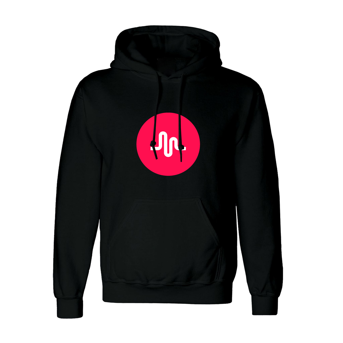 musically PRE-ORDER musical.ly logo hoodie Hoodie black