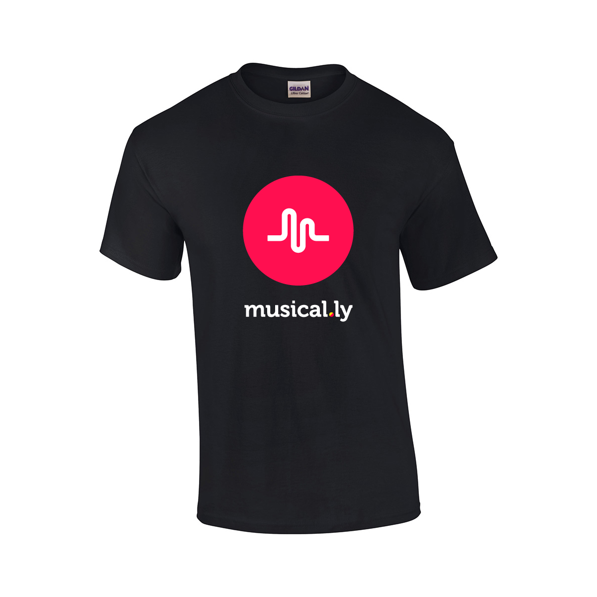 musically PRE-ORDER musical.ly logo shirt T-Shirt black