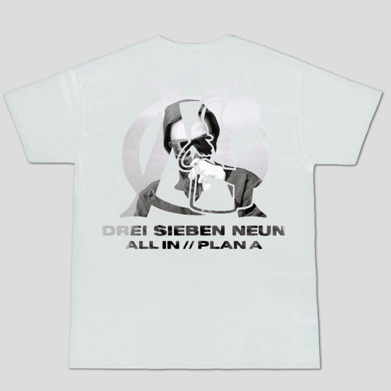 Nikan ALL IN / PLAN A Shirt White