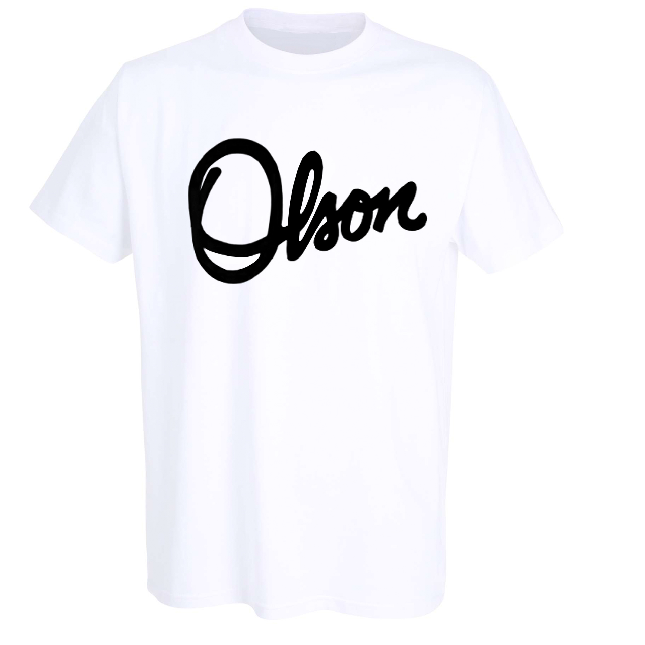 Olson Logo T-Shirt, White